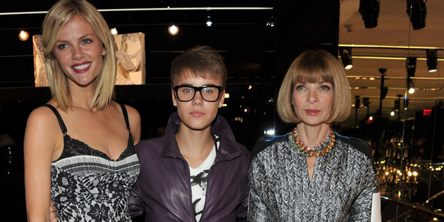 Justin Bieber in Madison Avenue per Dolce & Gabban