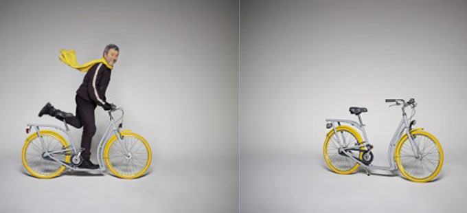 la bici-monopattino urbana