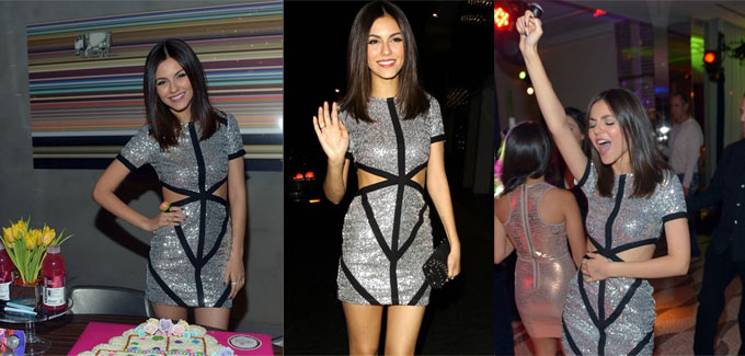 Victoria Justice ha vestito Missguided