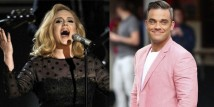 Adele e Robbie Williams, un duetto a tutto swing!!!