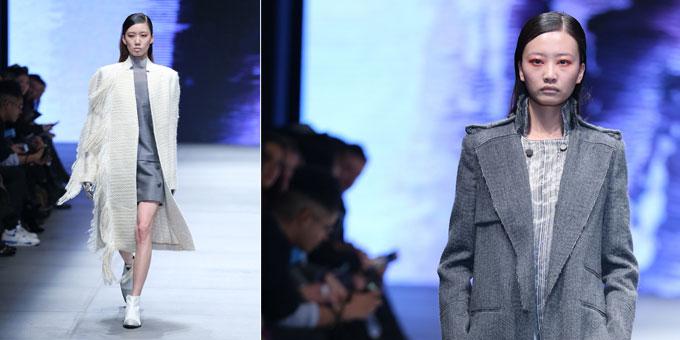 Gabriele Colangelo alla Mercedes-Benz China Fashion Week.