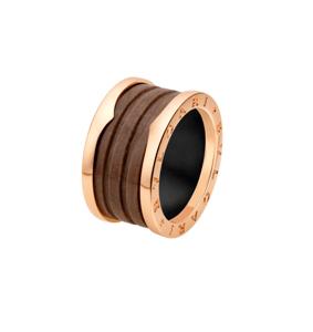 l'anello B .zero1 di Bulgari