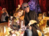 'Gold, Excess and Love' - Paola Maugeri e Roberto Cavalli