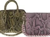 Le borse in pitone di Elena Ghisellini - ss 2013