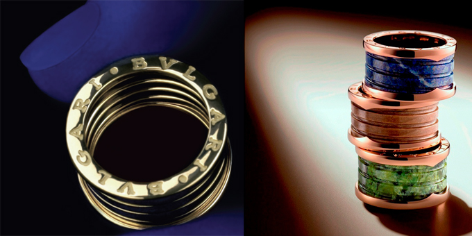 Gli anelli bulgari in mostra al salone del mobile di for Design gioielli milano