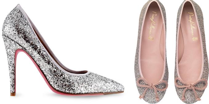 Oro e Argento per le scarpe