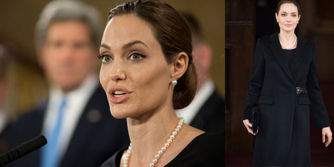 Angelina Jolie fa coming out