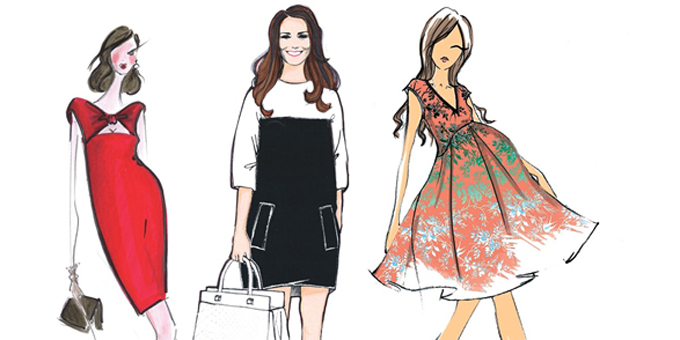 Kate Middleton -sketches