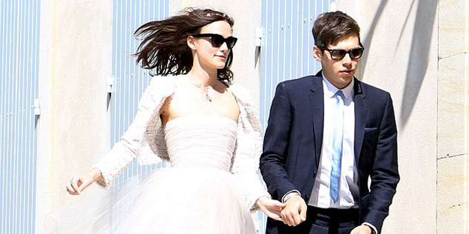 Keira Knightley e James Righton