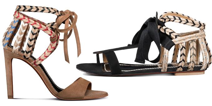 3ec75c9073867 Santoni porta le suggestioni etniche nei sandali da donna - SFILATE