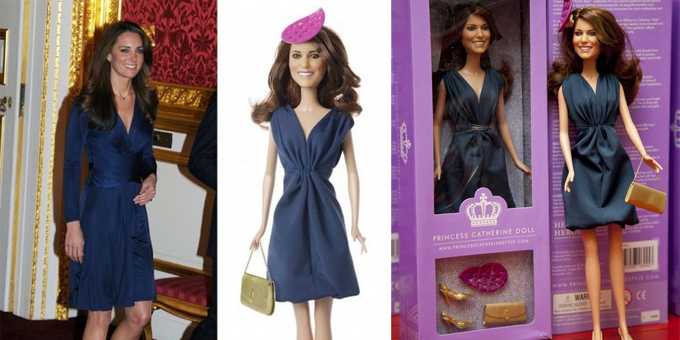 'Princess Catherine Doll'