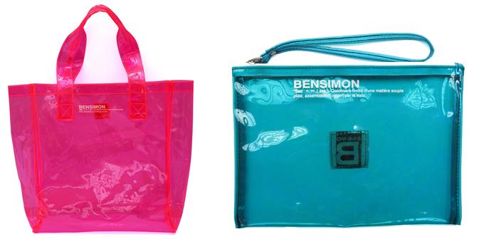 La borsa Plastic Fluo