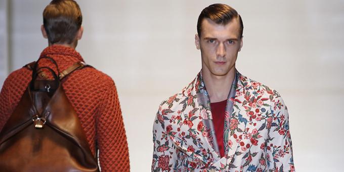 Gucci - sfilata ss 2014