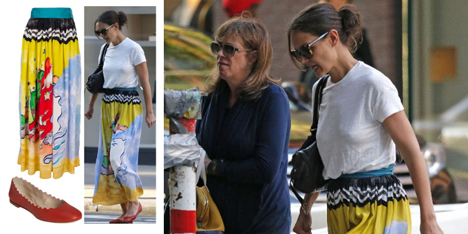 Lo Street Style di Katie Holmes