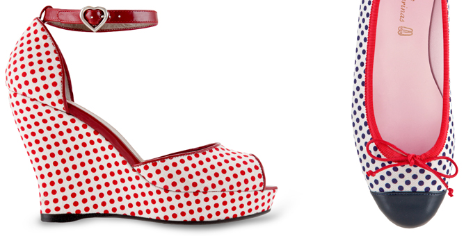 Passione Pois - scarpe -pe 2013