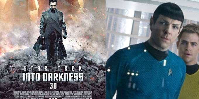 Into Darkness -Star Trek 3D: