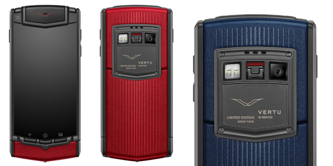 Vertu Ti colours