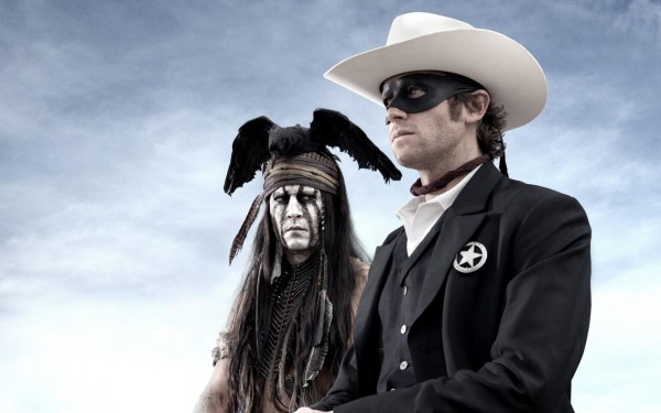 Johnny Depp Tonto in The Lone Ranger