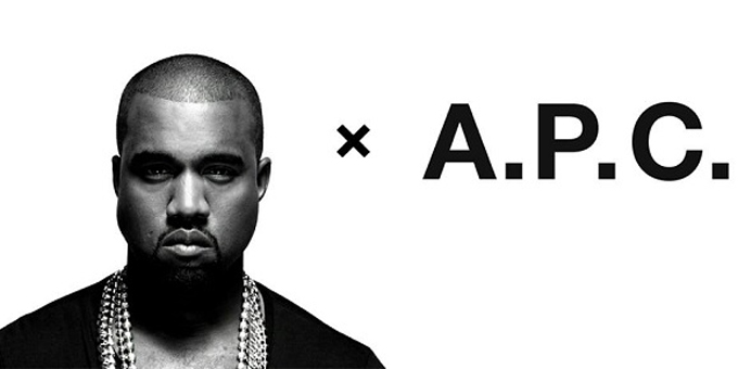 Kanye West per il brand A.P.C