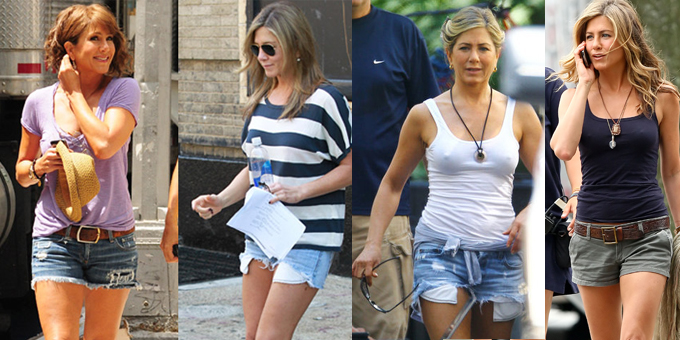 Jennifer Aniston short