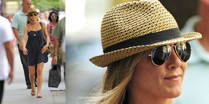 Jennifer Aniston in giro per New York