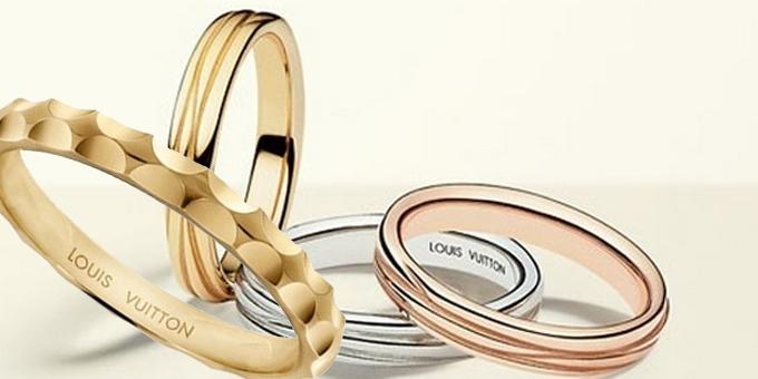 Le fedi Louis Vuitton