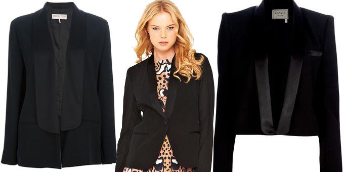 giacca tuxedo donna
