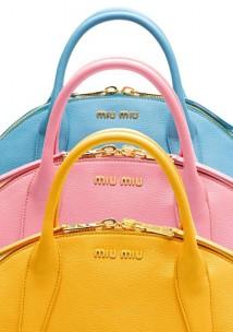 La nuova Miu Miu Bowling Bag