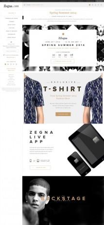 La t-shirt Z Zegna Primavera/Estate 2014