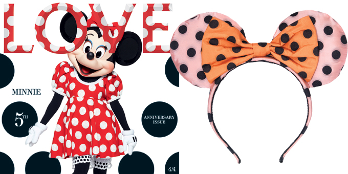 Minnie Cover Girl!