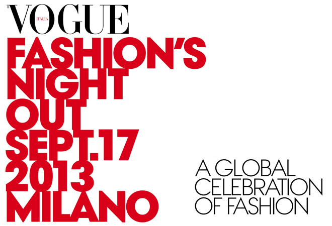 Vogue Fashions Night Out 2013 Milan