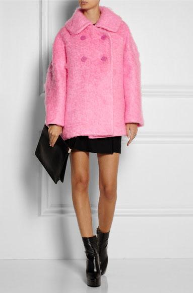 il cappotto rosa di carven