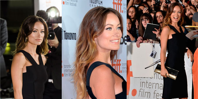 RED CARPET per OLIVIA WILDE: Toronto Film Festival