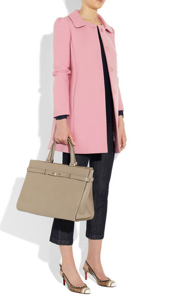 Red Valentino- il cappotto rosa