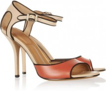 Givenchy Color block leather sandals