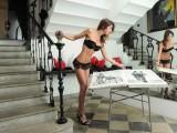 La lingerie sexy di Federica Torti