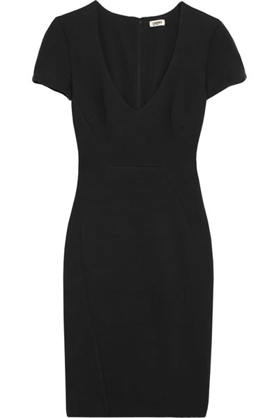 L'agence Fitted Ponte Dress