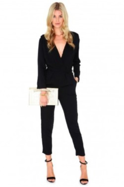 Tailored Crepe Jumpsuit - £70