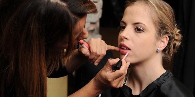 Il make up di Carolina Kostner