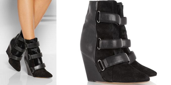 Isabelle Marant - scarlet boots