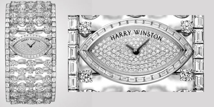 Mrs Winston High Jewelry Timepiece