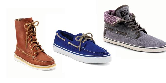 Le scarpe Sperry