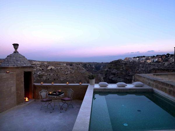 A Matera, tra i sassi patrimonio dell\'Unesco una spa ricca di ...