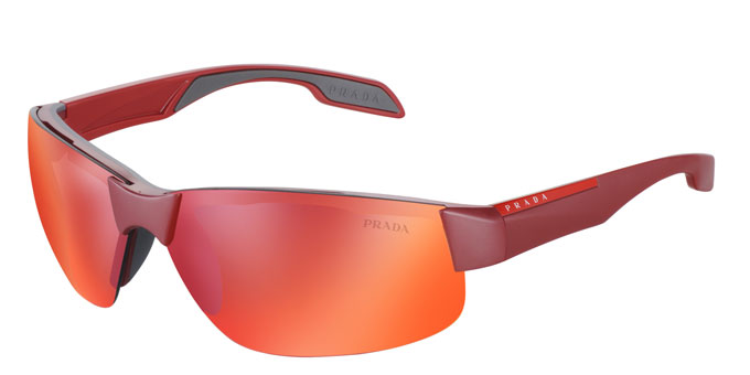 Prada- Red Feather - SPS-03P-ROX-0A7