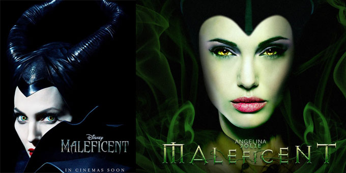 Angelina Jolie, in Maleficent