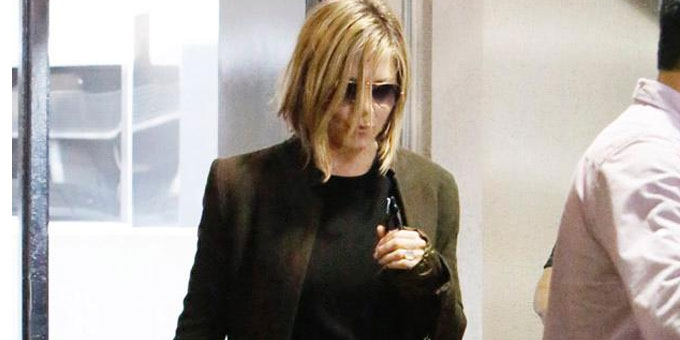 Jennifer Aniston cambia look