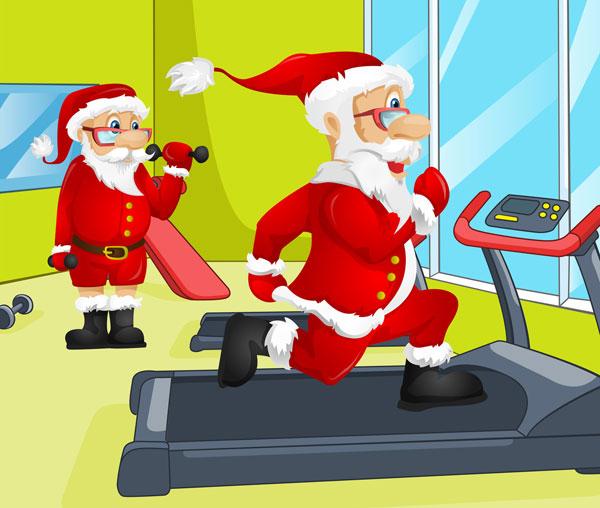 Babbo Natale fa Fitness
