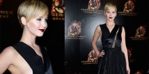 Jennifer Lawrence a Parigi