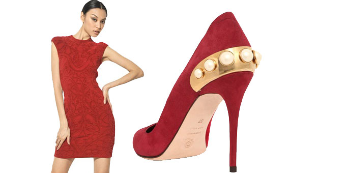 Alexander McQueen - Red Passion