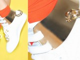 La Reebok Freestyle riletta con inserti in oro 24 carati